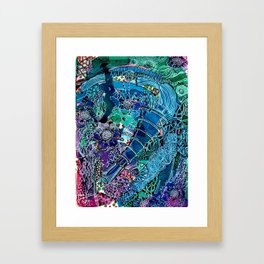 Grapefizz | Limited Edition of 50 Prints Framed Art Print