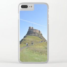 The Holy Island Clear iPhone Case