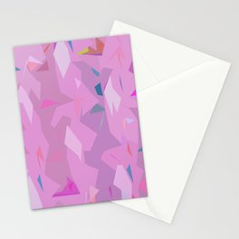 ABSTRACTION MAGENTA Stationery Cards