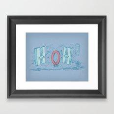 Ménage Agua Framed Art Print