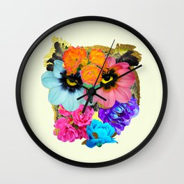 It was a Blooming Hoot Wall Clock