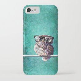 Intellectual Owl iPhone Case