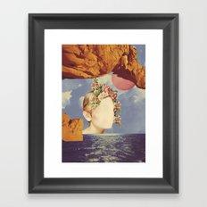 COSMIC PORTRAITS//03 Framed Art Print