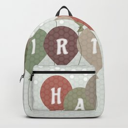 Vintage Birthday card Backpack