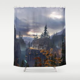 Fated - Environment Shower Curtain
