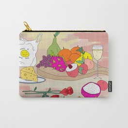 Still Life Fruit with Plastic Bag Carry-All Pouch
