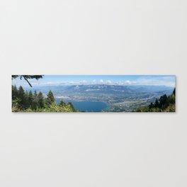 Summit of Mont du Chat Canvas Print