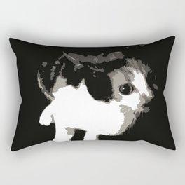 Beware the Demon Cat Rectangular Pillow