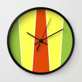 Cherry Limeade Wall Clock