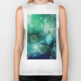Galaxy Bliss Biker Tank