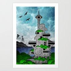 Station//Bay (1 of 6) Art Print
