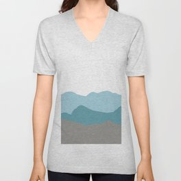Blue Mountains Unisex V-Neck