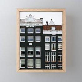 Scandi Style - Amsterdam Travel Photography Framed Mini Art Print