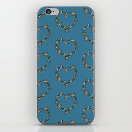 Vegan Daisy Chain Heart iPhone Skin
