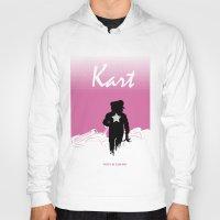mario kart Hoodies featuring Kart by Samiel
