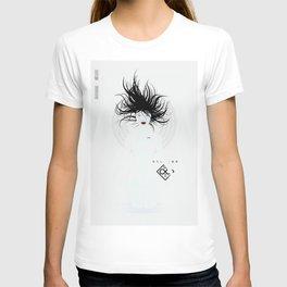 P_2501-white (manga) T-shirt