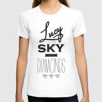 marina and the diamonds T-shirts featuring lucy with diamonds by marina pb