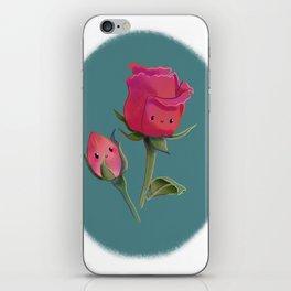 Cutie Rose and Bud iPhone Skin