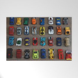 1980's Toy Cars Welcome Mat