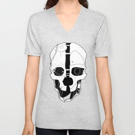 Corvo's Mask Unisex V-Neck