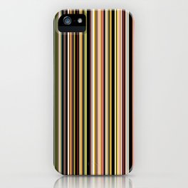 Old Skool Stripes - The Dark Side iPhone Case