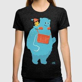 Blue-Monster Piggy-Ride T-shirt