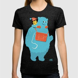 Blue-Monster Piggy-Ride T-shirt