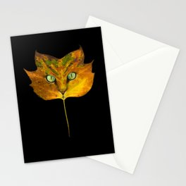 Autumn Cat-5 Stationery Cards