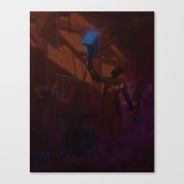 The Blue Hammer Canvas Print