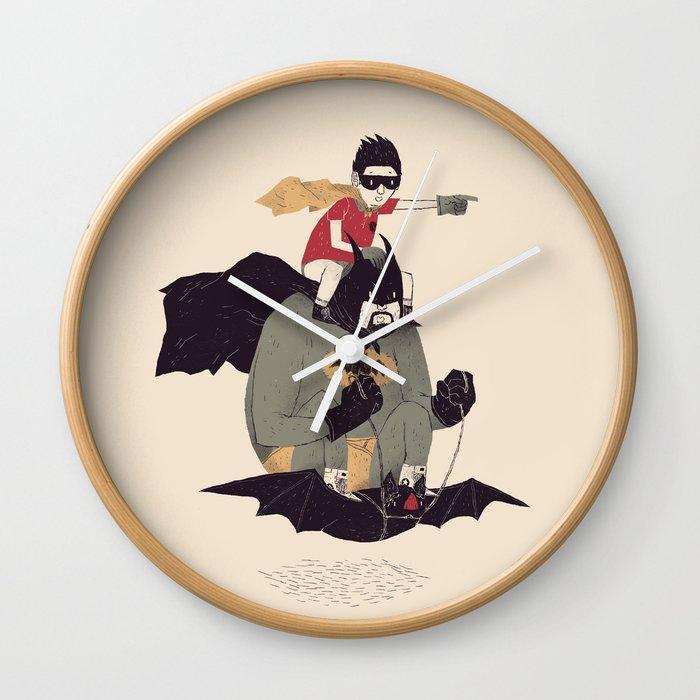 to the batmobile! Wall Clock