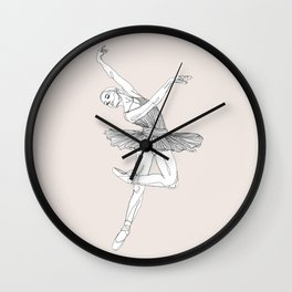 Ballerina 1 Wall Clock