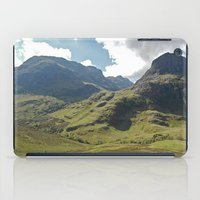 scotland iPad Cases featuring Scotland Hills by Shelly Navarre