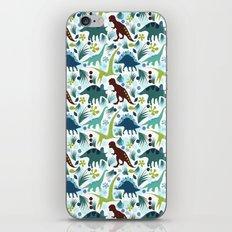 Dinosaur Days iPhone & iPod Skin