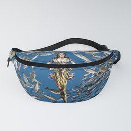 Mermaid in Monaco Fanny Pack