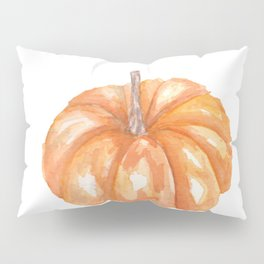 Orange Pumpkin Pillow Sham
