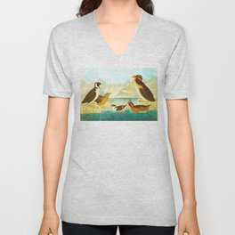 Black-throated Guillemot Unisex V-Neck