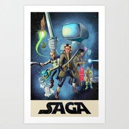 Saga: A New Hope Art Print