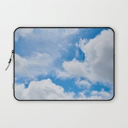 Partly Cloudy Laptop Sleeve