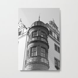 Town Hall Torgau Metal Print