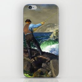 "George Wesley Bellows ""The Fisherman"" iPhone Skin"