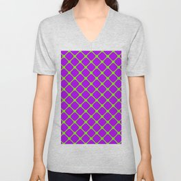 Square Pattern 2 Unisex V-Neck