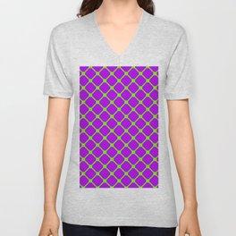Square Pattern 2 Unisex V-Neck