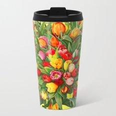 Tulip Bouquet Metal Travel Mug