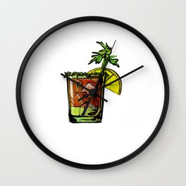 Bloody Mary Just Add Bloody Mary Wall Clock
