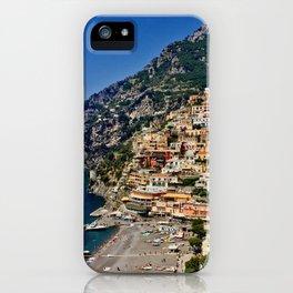 Positano's coast iPhone Case