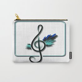 Let the music fly Carry-All Pouch