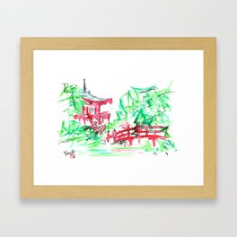 Hidden Wonders Framed Art Print