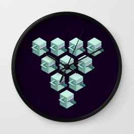Yulong Clones Wall Clock