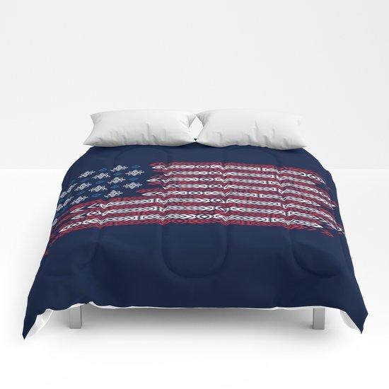 Native Patriots Comforters