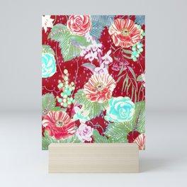 red boho 2018 Mini Art Print